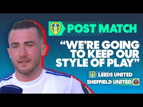 Leeds Won't Change Now They're Safe | Leeds United 2-1 Sheffield United | Post Match Interview