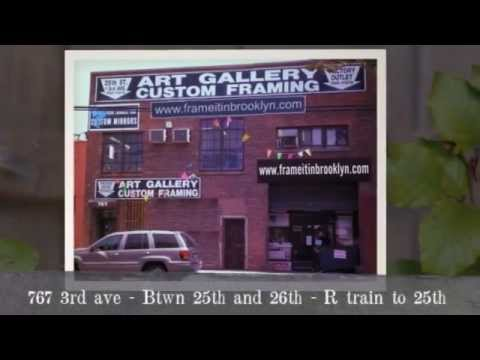 Best Picture Frame Shop In New York City (Frame It In Brooklyn ...