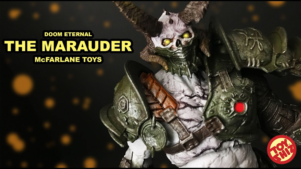 Mcfarlane Toys The Marauder From Doom Eternal Youtube