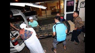 Jenazah 5 sekeluarga dibawa pulang ke Kluang