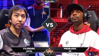 Grand Final: Fujimura vs ProblemX | Red Bull Kumite 2018