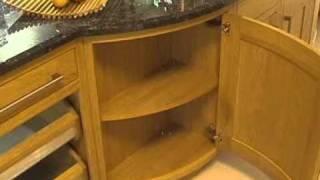 Diy Kitchens - Milton Oak - Slow Curved Base Unit