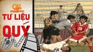 Sự cố tại sân Long An tại Giải Vô Địch Quốc Gia 1998 - Màn xô xát như phim hành động | BLV Quang Huy