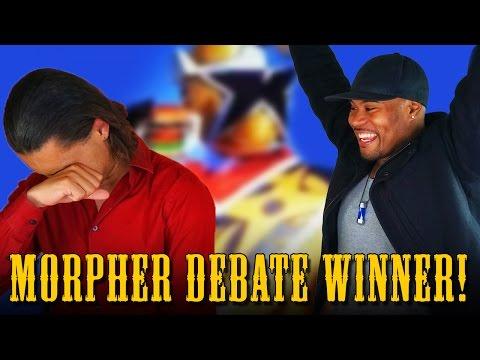 Burger Morpher Debate Concludes! (Power Rangers Ninja Steel Gold!)