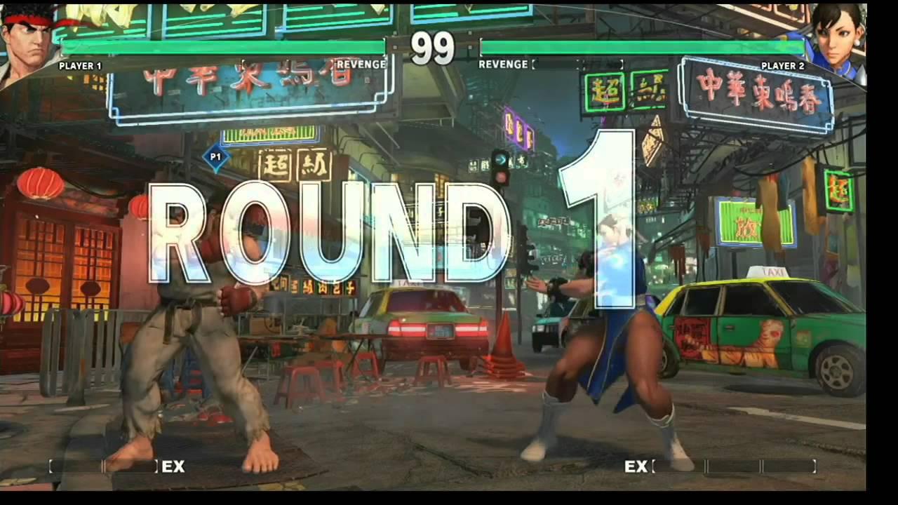 Street Fighter 5 Onstage Live Demonstration Capcom Cup 2014