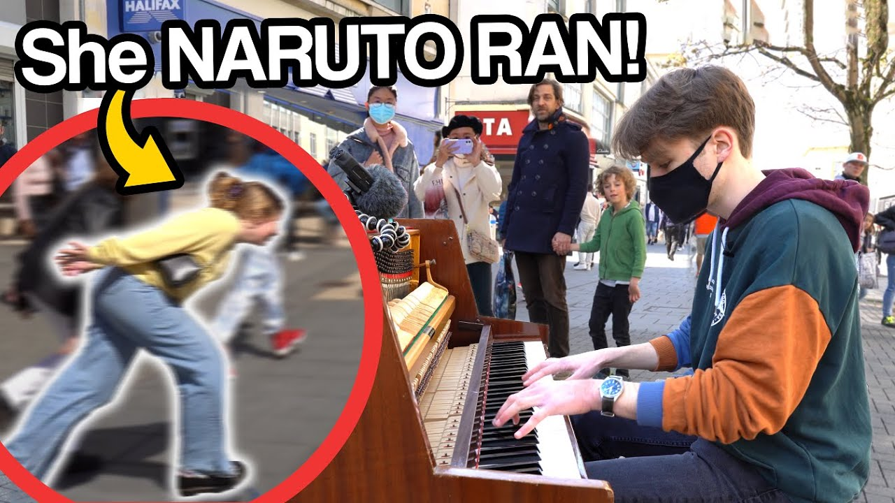 I played NARUTO OST (Blue Bird, Sadness and Sorrow) on piano in public