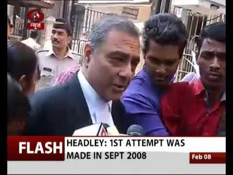 Headley's Lawyer on 26/11 Mumbai Case