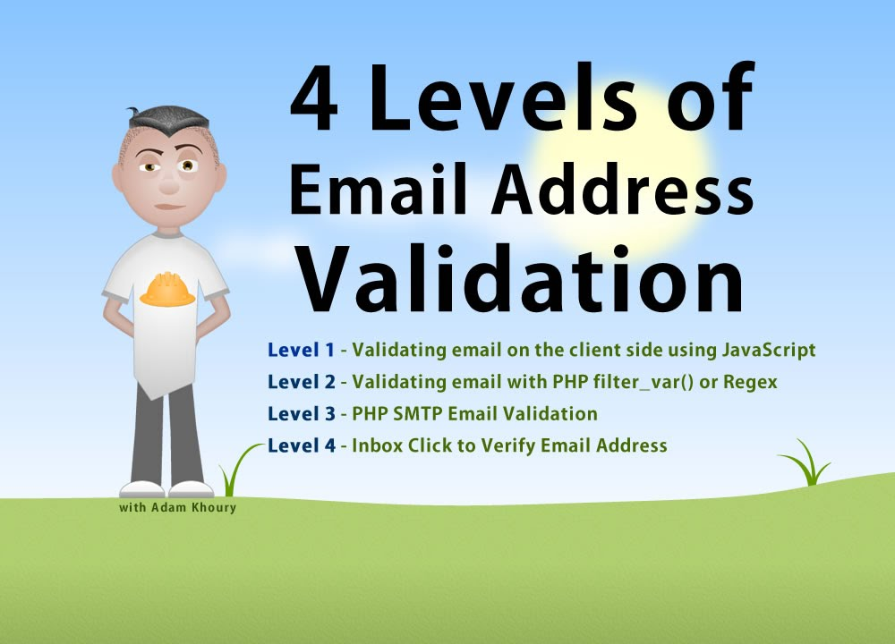 Free email address validator