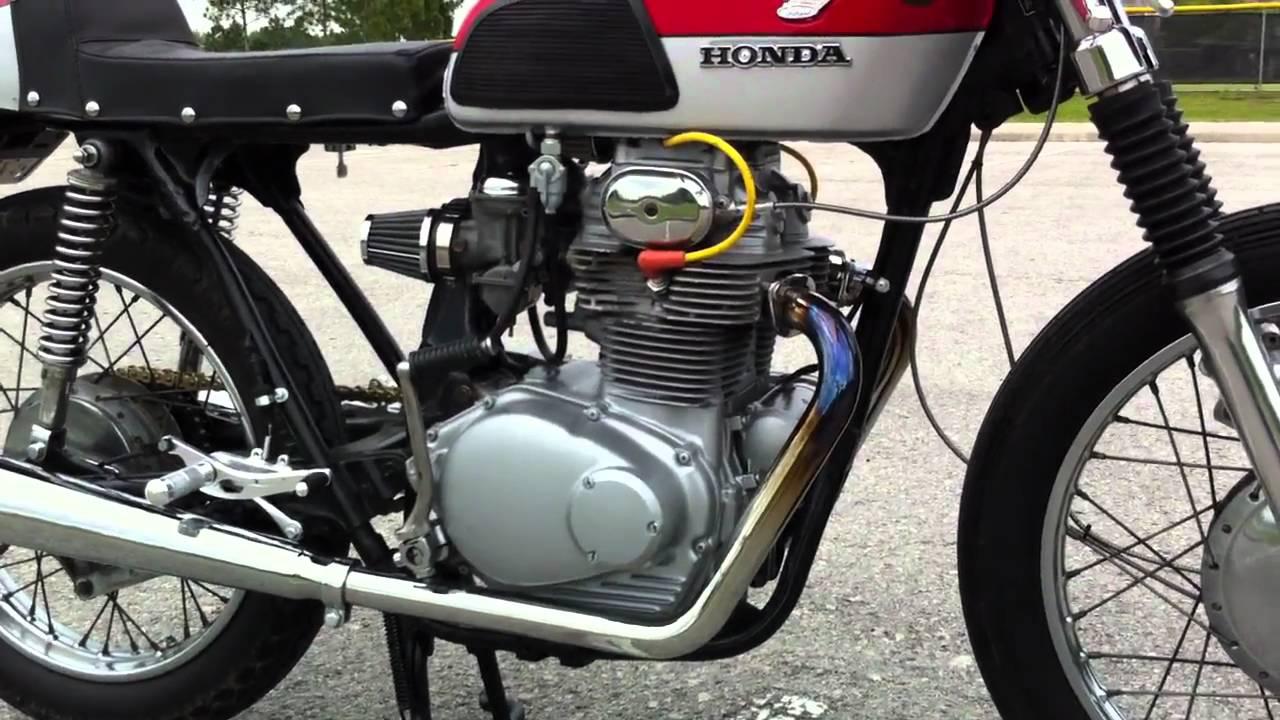 1973 Honda CL350 Scrambler Cafe Racer