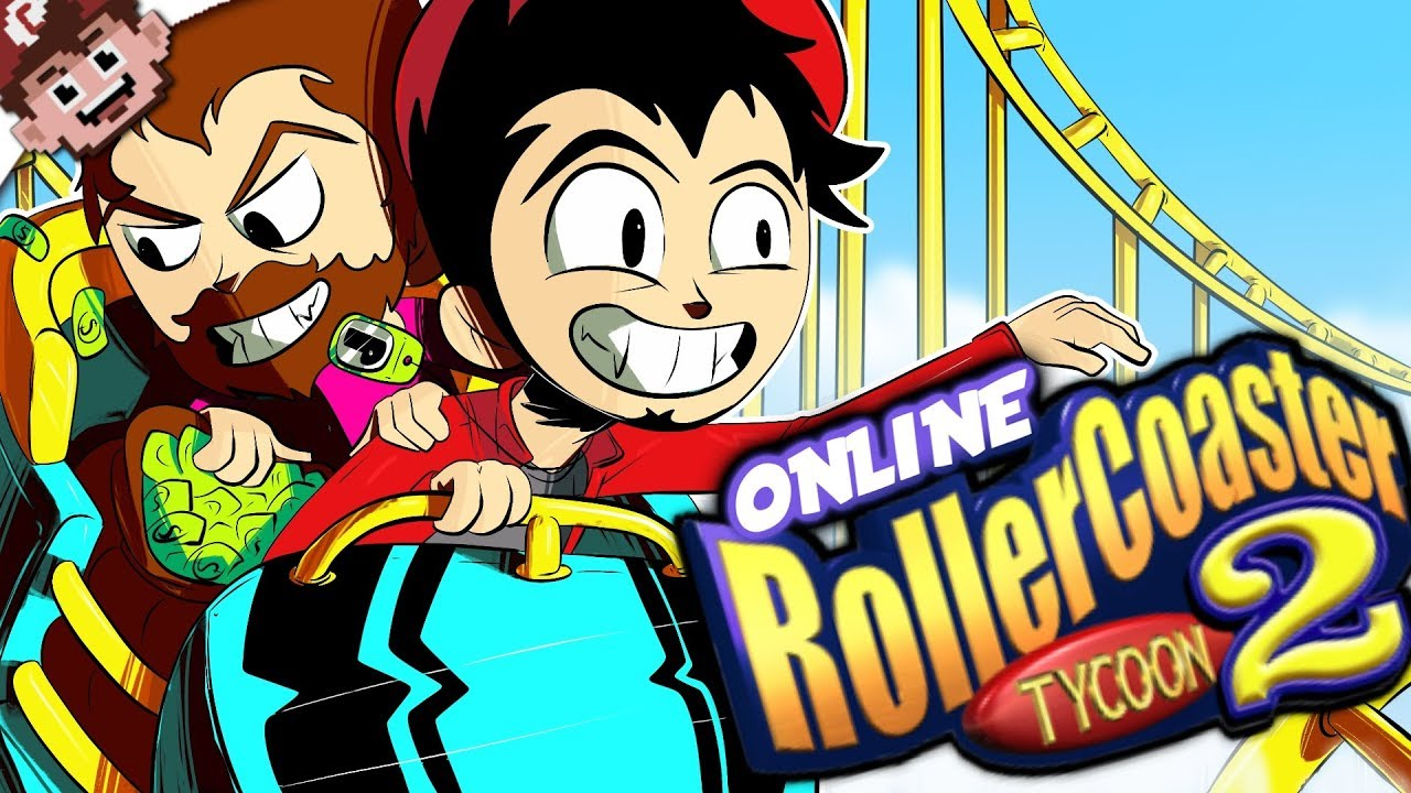 ROLLER COASTER TYCOON 2 ONLINE MULTIPLAYER! (OPEN RCT2 w/ Friends)