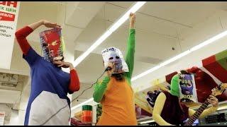 Pussy Riot - Акция! Акция! Пусси Райот ликвидация! Пусси Райот из дэд!(Серия несанкционированных выступлений с декабря по апрель 2014-2015 гг в супермаркетах и ресторанах Москвы...., 2015-05-21T00:33:16.000Z)