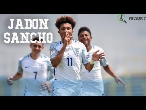 ProScout - Jadon Sancho EURO U17 2017