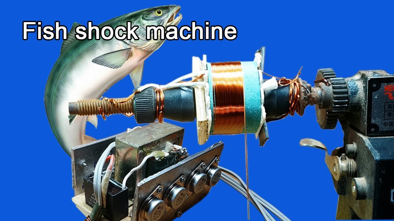 How To Make Fish Shock Electric Machine By Using Transistor Mj2955 X Universal Power Supply With Ic78xx And 8 Part1