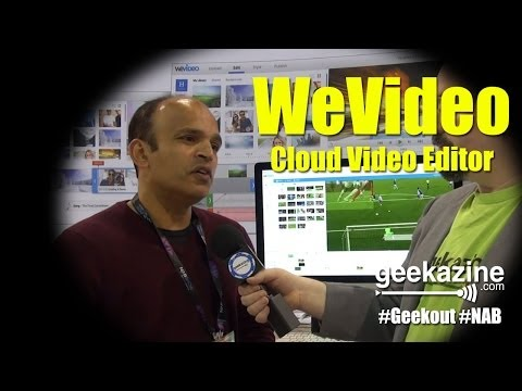 WeVideo Cloud Based Video Editor