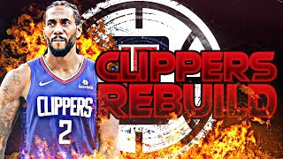BLOWING UP THE CLIPPERS REBUILD! (NBA 2K20)