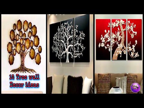 14 Amazing tree wall decor | Diy wall art | do it yourself | Fashion pixies