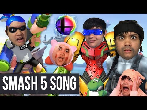 The SMASH ULTIMATE SONG! (Super Smash Bros. Ultimate For Nintendo Switch Song with Lyrics)