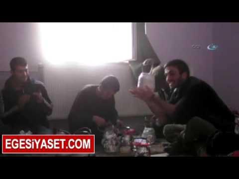 PKK'lı Çete Şarkılar Eşliğinde Çaydanlık Bombası Hazırladı