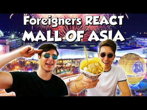 Filipino Malls are INSANE (Mall of Asia!) - Philippines Travel Vlog