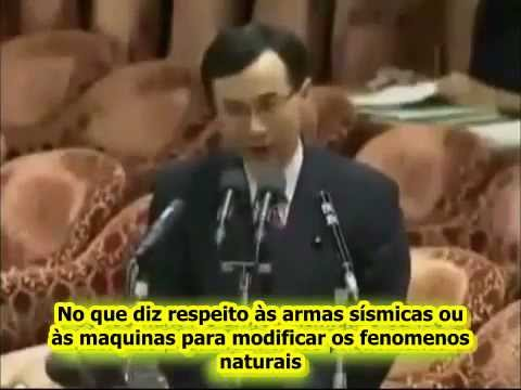 Ministro japonês fala abertamente sobre o HAARP