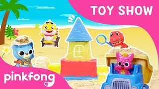 Pinkfong Baby Shark Sandbox Play | Toy Show | Sand Toys | Toy Review | Pinking Toy Show for Children