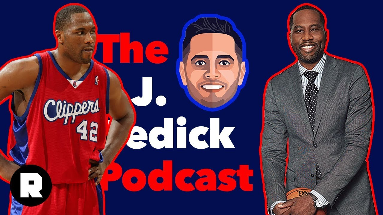 low priced 42eab 7f2a8 Elton Brand on the Sterling-Era Clippers and His Path to GM | The JJ Redick  Podcast (Ep. 23)