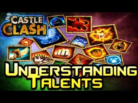 Castle Clash: Understanding Talents.