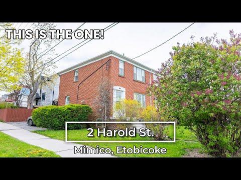 2 Harold St. | Mimico, Etobicoke |