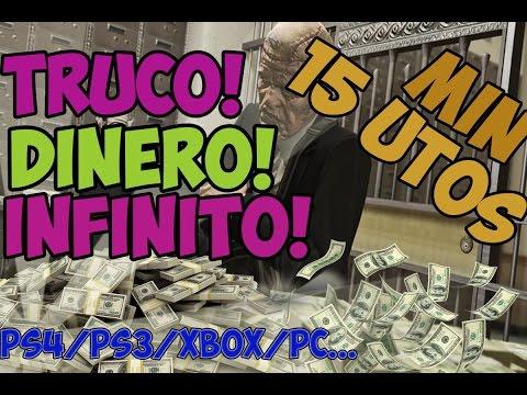 GTA5 TRUCO DINERO INFINITO! LEGAL! PACIFIC STANDARD PS4/PS3/XBOX/PC