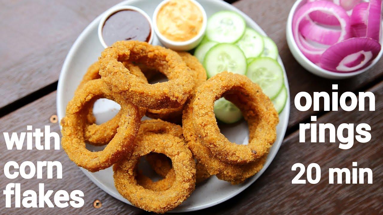 Onion Rings Recipe Indian Style O Crispy Onion Rings Onion Fried Rings