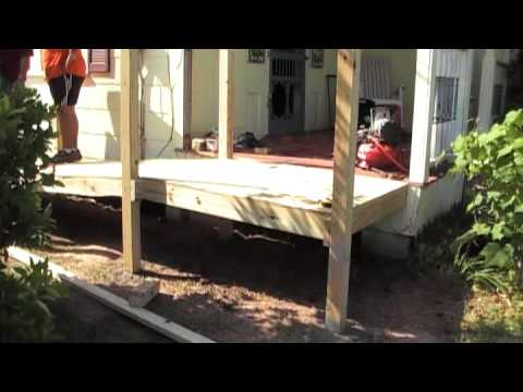 Building A Wheelchair Ramp For My Dad   YouTube