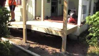 Building a Wheelchair Ramp for My Dad