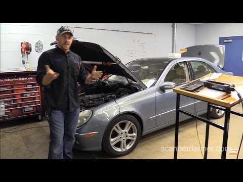 Mercedes-Benz E500 No Start, No Communication With PCM