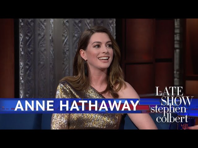 anne-hathaway-rewatches-her-first-commercial