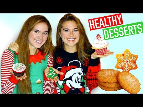HEALTHY HOLIDAY DESSERT RECIPES -  Easy & Vegan