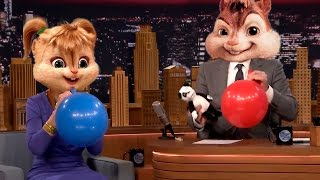 Famous People on Helium Compilation (Real Chipmunk Voice) part 2