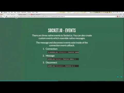 Socket.io - Binding the front and back-end together with Node.js and Canvas