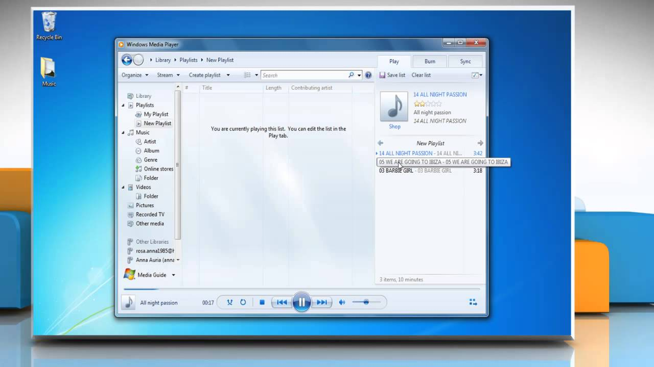 how to trim a song on windows media player