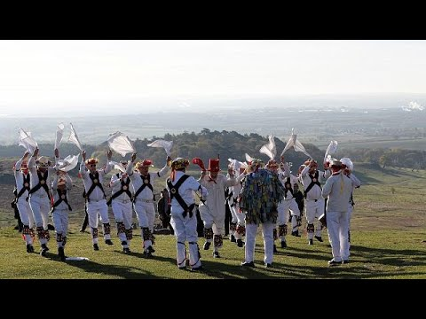 Jingle Bells May Day Morris Dancing In England Youtube