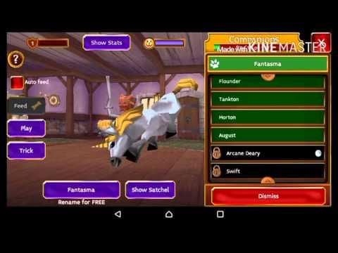 Arcane Legends: Opening Pet Fantasma