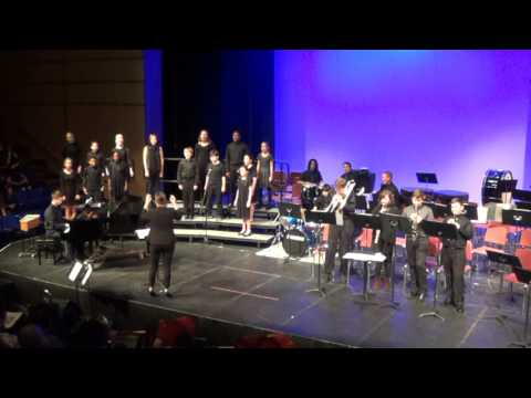 Middle School Chamber Singers & Jazz Combo - Winter Concert 2017 - Abington Friends School