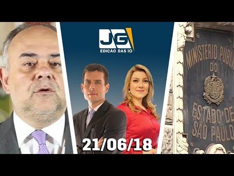 Jornal da Gazeta - Edição das 10 - 21/06/2018