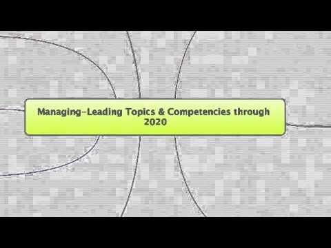 Management Leadership Competencies 2020