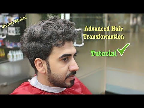 Advanced Haircut for Men - Hair Transformation Tutorial - Brand New Hairstyle For men 2018 #24