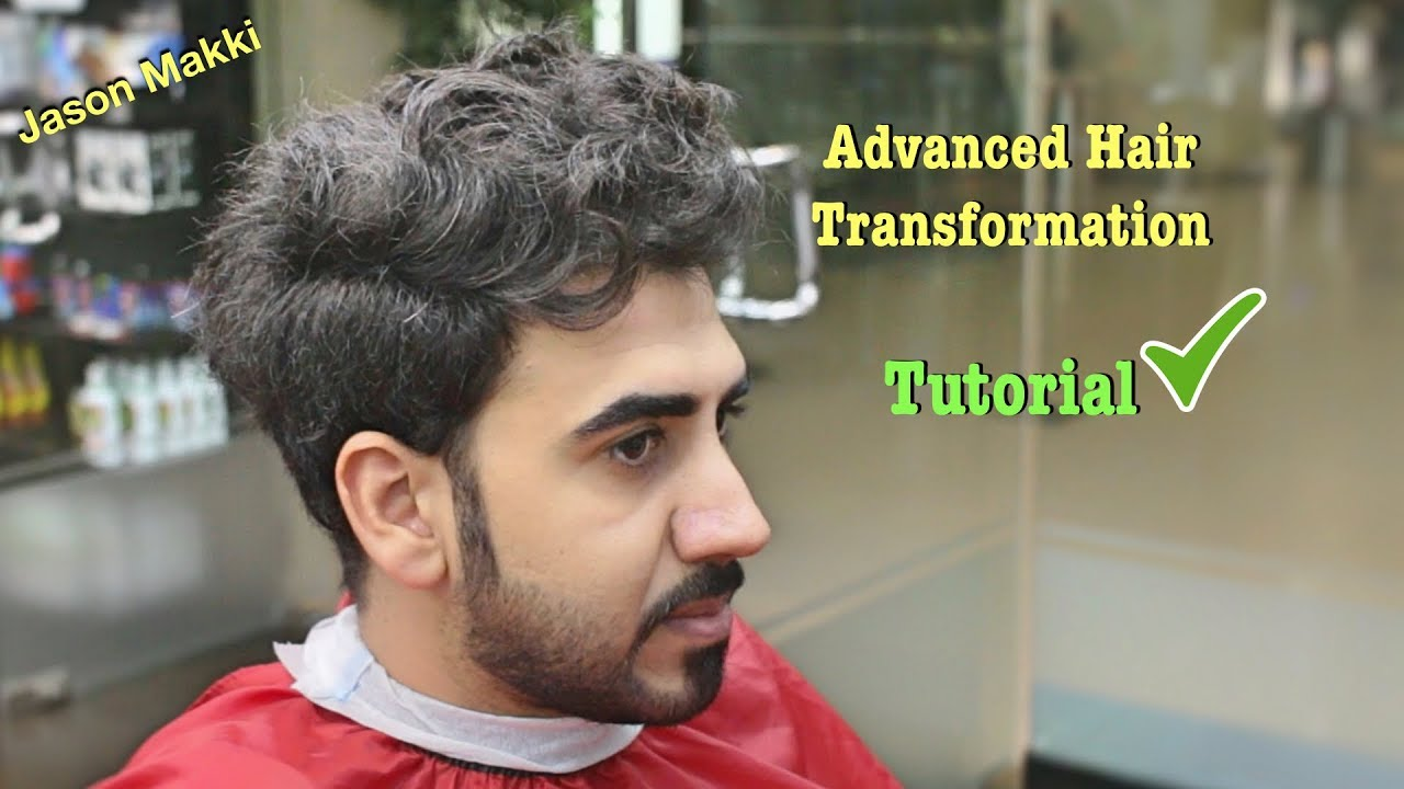 Advanced Haircut For Men Hair Transformation Tutorial Brand New Hairstyle For Men 2018 24