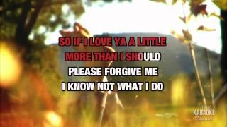 Please Forgive Me : Bryan Adams   Karaoke with Lyrics