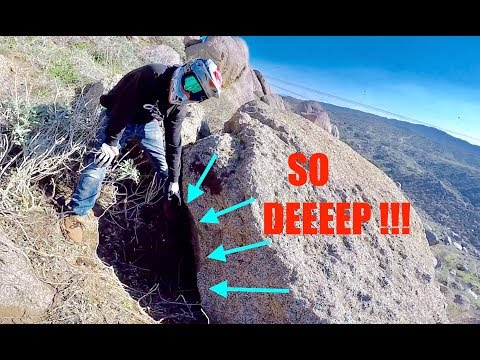 CRAZY DISCOVERY!!:CLIMBING IN HIDDEN TUNNEL!!