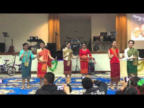 LSM Worship Team - Traditional Lao Dance