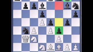 Шахматы. Староиндийская защита. Система Петросяна 1 часть