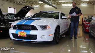 '12 GT500 w/ 900 original miles for sale with test drive, driving sounds &  walk through video